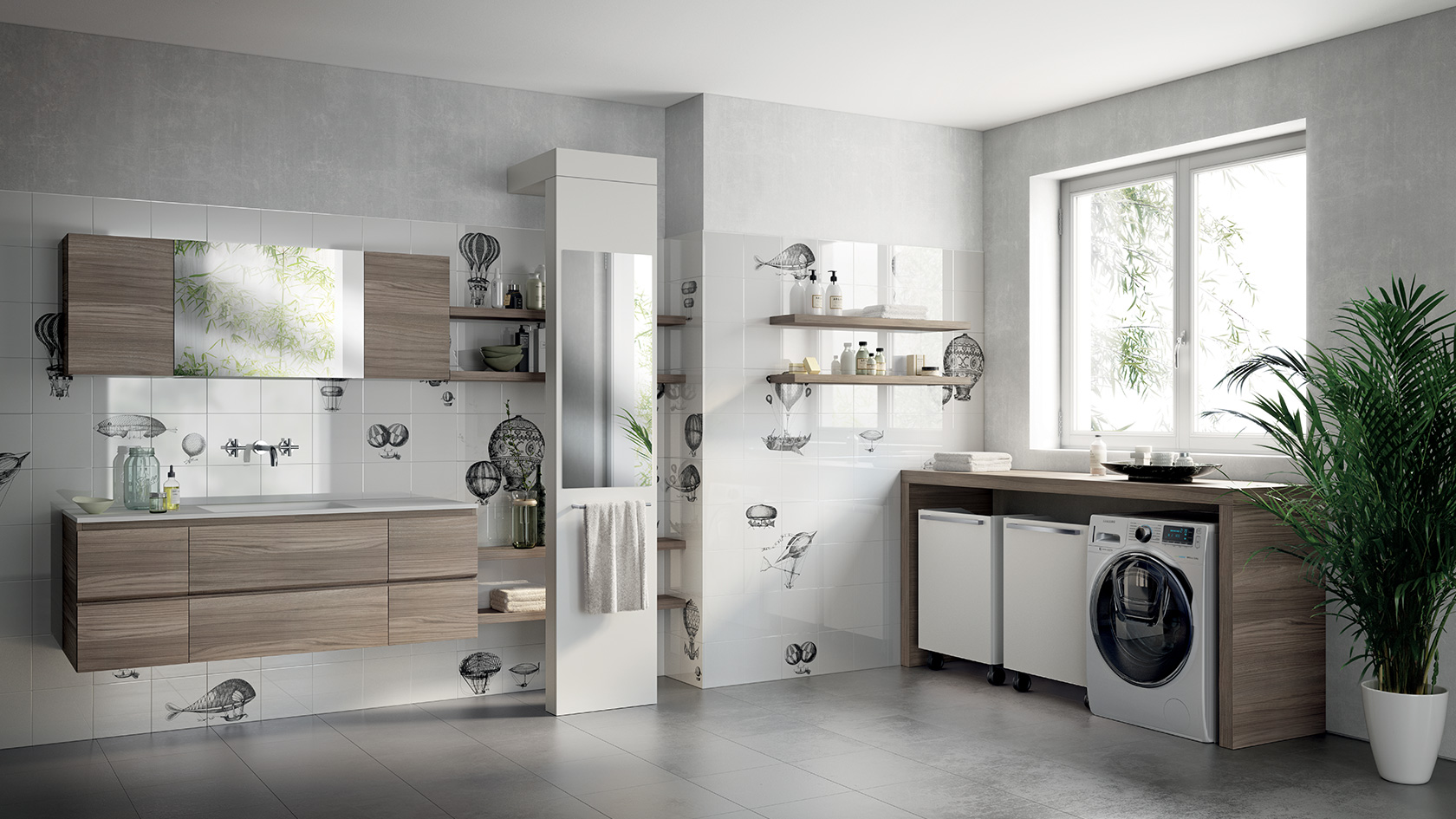 9316 Laundry Space Scavolini 03