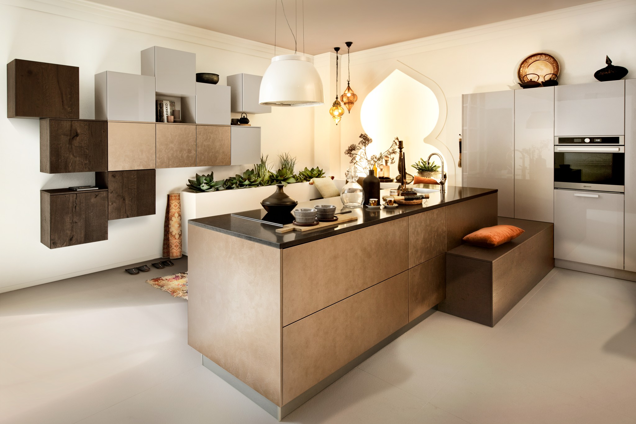 Haecker Hausausstellung 2018 Koje30 AV4070 Bronze AV4030 Kaschmir M
